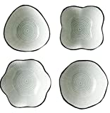Alien Storehouse Sets Of 4 Ceramic Sauce Dishes Creative Restaurant Tableware #5
