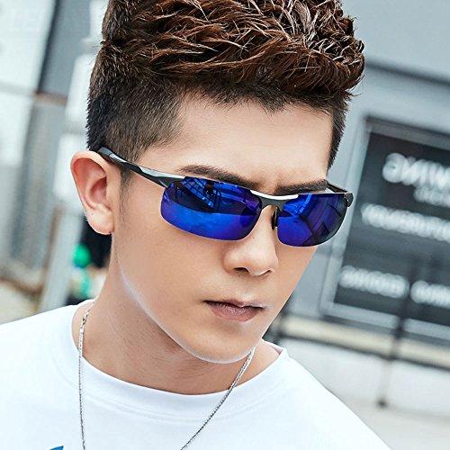 para Color De de Sol Gafas Gafas De Anti De UV Conducción Gafas Deporte Personalizadas sol Alta 8 Hombre Reflejante Gafas De 5 Anti Definición Gafas Polarizadas Sol De YQQ Fq8w5vz