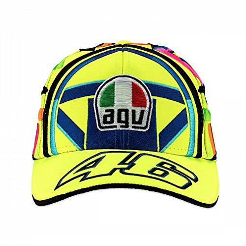 Valentino Rossi VR46 Moto GP Replica Helmet Kids Cap for sale  Delivered anywhere in USA