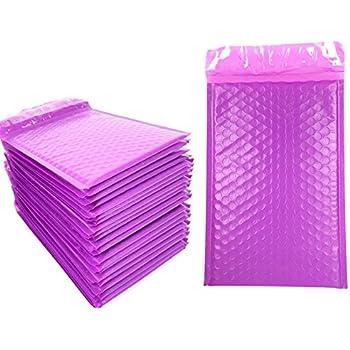 amazon com sarira c 6x9 a5 size purple matte padded mailing