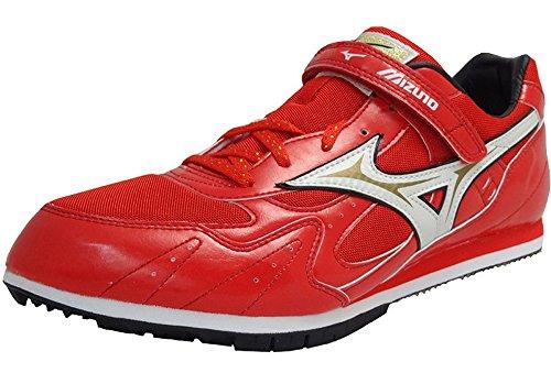 Mizuno Triple Jump triple salto-zapato de Spike 8KM -88201 hombre Zapatillas de running rojo tamaño US 13