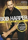 GoFit Bob Harper Inside Out Method - KettleBell Cardio Shred Workout DVD, Cardio Fitness, Maximum Fat Burn, by GoFit