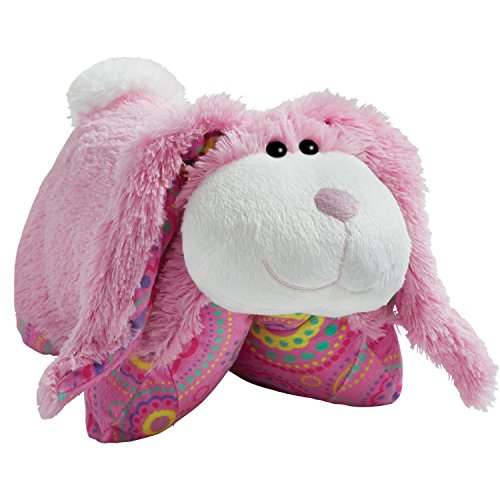 "Pillow Pets Springtime Pink Bunny, 18"" Stuffed Animal Plush Toy"