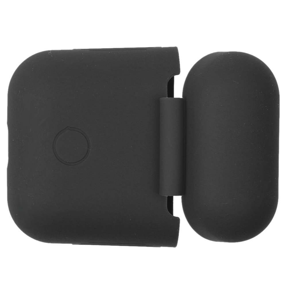H HILABEE 2 Unids Funda De Silicona Protector para Apple AirPods Headsets