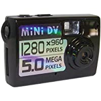 Cobra Digital Small Digital Camera, Black MINI150 (Discontinued by Manufacturer)