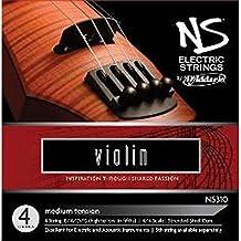 D'Addario NS310 NS Electric Violin Strings, Medium