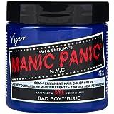 スペシャルセットMANIC PANICマニックパニック:Bad Boy Blue (バッド・ボーイ・ブルー)+ヘアカラーケア4点セット