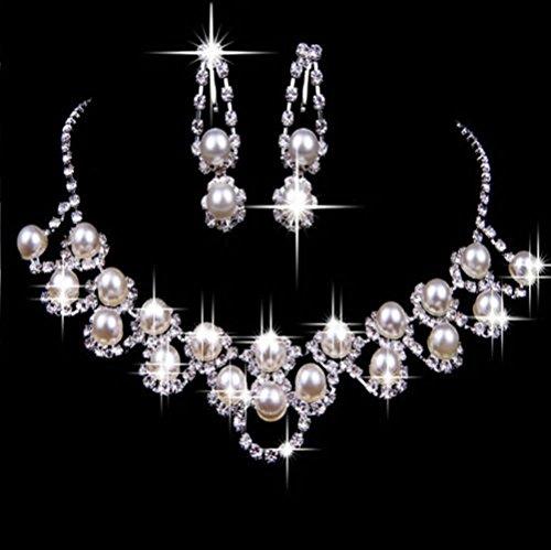 HeroNeo%C2%AE Wedding Crystal Rhinestone Necklace