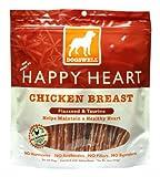 DogsWell Happy Heart Chicken Jerky Treats 15oz, My Pet Supplies