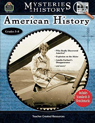 - Teacher Created Resources Mysteries in History Series - American History Workbook