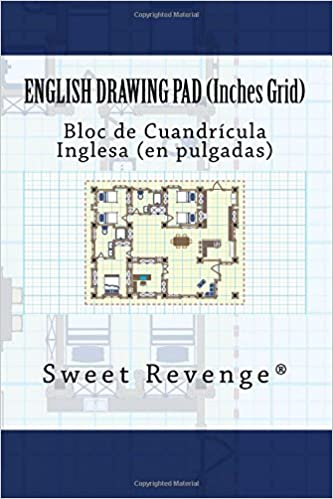 English Drawing Pad - Inches Grid: Bloc de Cuandrícula Inglesa - En Pulgadas: Sweet Revenge: 9781977745804: Amazon.com: Books