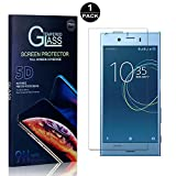 Sony Xperia XZ1 Compact Screen Protector, Bear Village® Tempered Glass Screen Protector [Lifetime Warranty], HD Screen Protector Glass for Sony Xperia XZ1 Compact - 1 PACK
