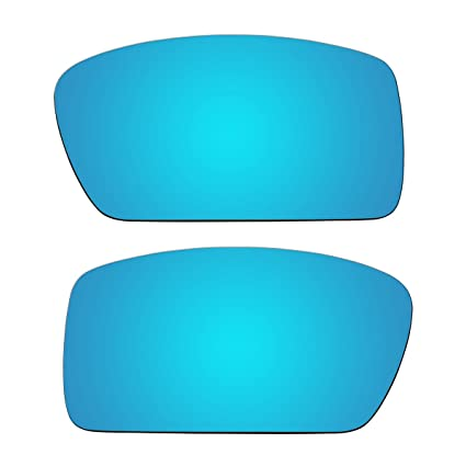 3d3c4e7716 Image Unavailable. Image not available for. Color  ACOMPATIBLE Replacement  Ice Blue Polarized Lenses for Oakley Gascan (Asian Fit) Sunglasses