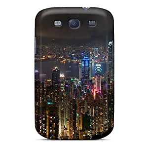 Durable Case For The Galaxy S3- Eco-friendly Retail Packaging(skyline)