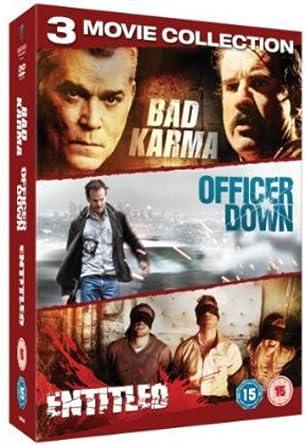 Crime Triplebad Karmathe Entitledofficer Down Dvd Amazoncouk