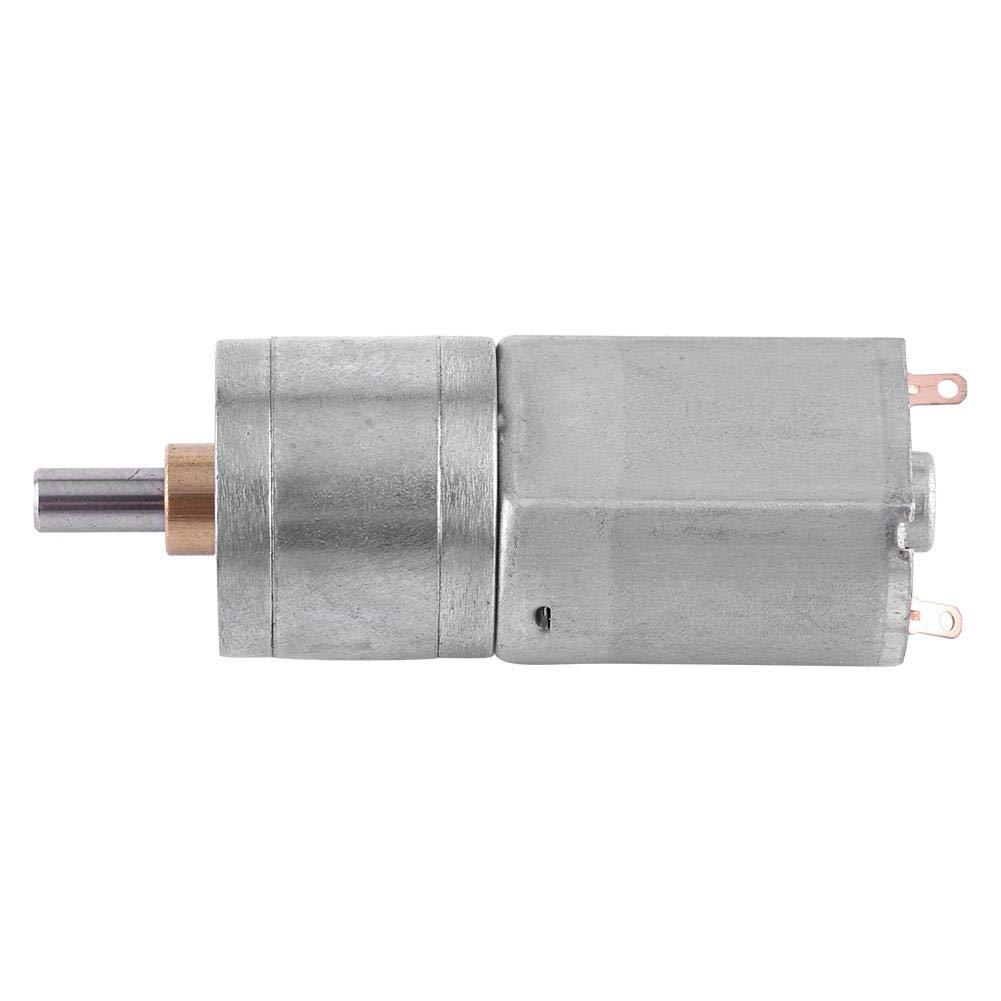30RPM Motore a Riduzione a Vite Senza Fine DC 12V 15~200RPM Motoriduttore Riduzione per Ingranaggi Elettrici ad Alta Coppia