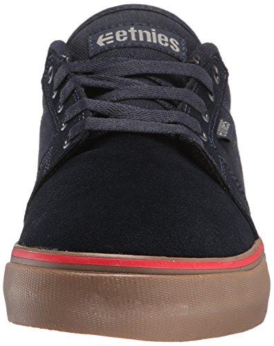 EtniesBarge Ls - Zapatillas de Skateboard hombre Azul - Blue (Navy/Navy/Gum 464)