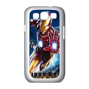 Samsung Galaxy S3 9300 Cell Phone Case White_Explosive Iron Man Tjunc
