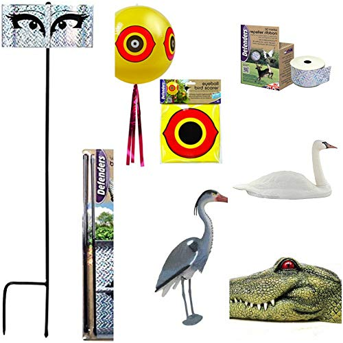 Lake or Pond Protection Kit, Deter Herons, Raccoons, Geese and Other Predators