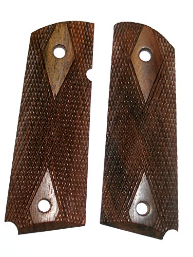 1911 Double Diamond Walnut Pistol Grip Panels