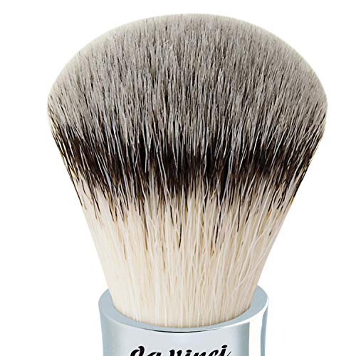 da Vinci Shaving Series 279 UOMO Synique Shaving Brush, Synthetic with Kebony Wood Handle, 22mm