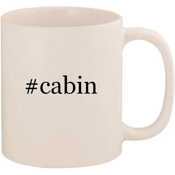 Review #cabin - 11oz Ceramic White Coffee Mug Cup, White