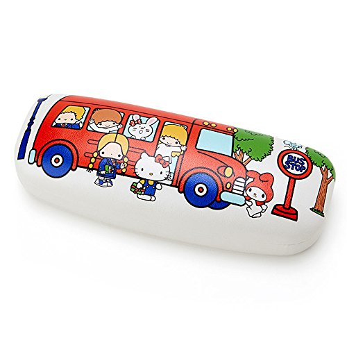 Sanrio Sanrio Characters glasses case '70s bus From Japan New (70s Tv Characters)