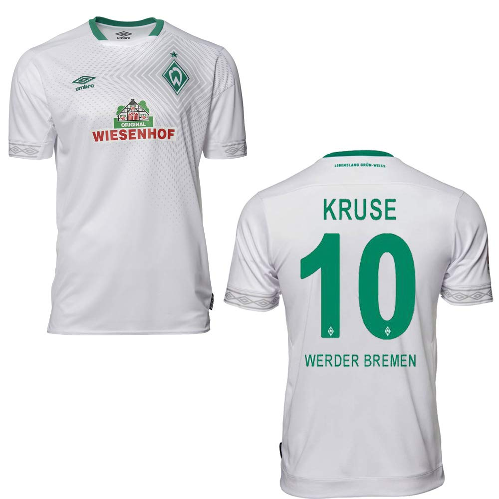 Umbro SV Werder Bremen Trikot 3rd Kinder 2019 Kruse 10