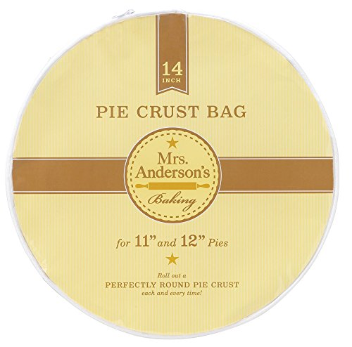 (Mrs. Anderson's Baking Easy No-Mess Pie Crust Maker Bag, 14-Inches)