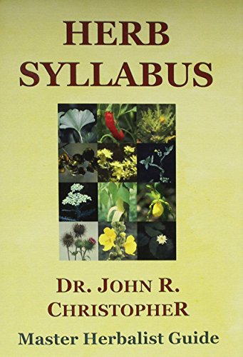 Herb Syllabus (First Printing)