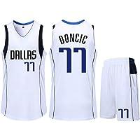 Luka Doncic # 77 Dallas Mavericks Baloncesto Sin