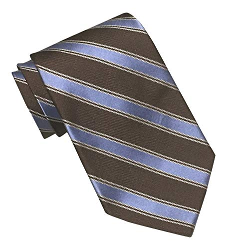 Brooks Brothers 346 Brown Blue Striped Tie Brooks Brothers Striped Tie