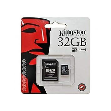 Kingston-Tarjeta de memoria micro sdhc de 32 GB clase 4 ...