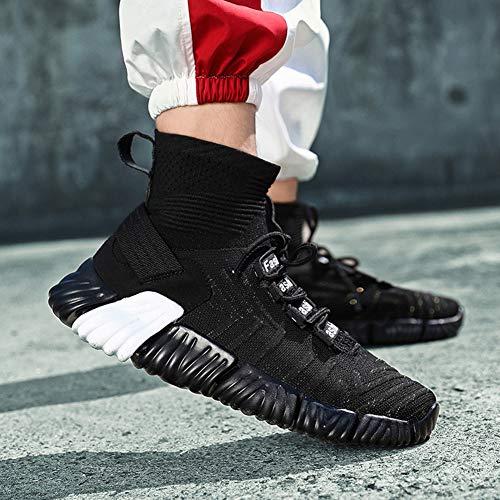 Sport Left 39 Jogging Air Sneaker Da Calze Running 44 Ginnastica Black Corsa amp;right Scarpe AZqrPIZ
