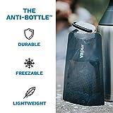 Vapur Solid Flexible Water Bottle - with Carabiner