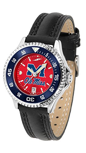 Watch Competitor Rebels - Mississippi Rebels Competitor AnoChrome Women's Watch - Color Bezel