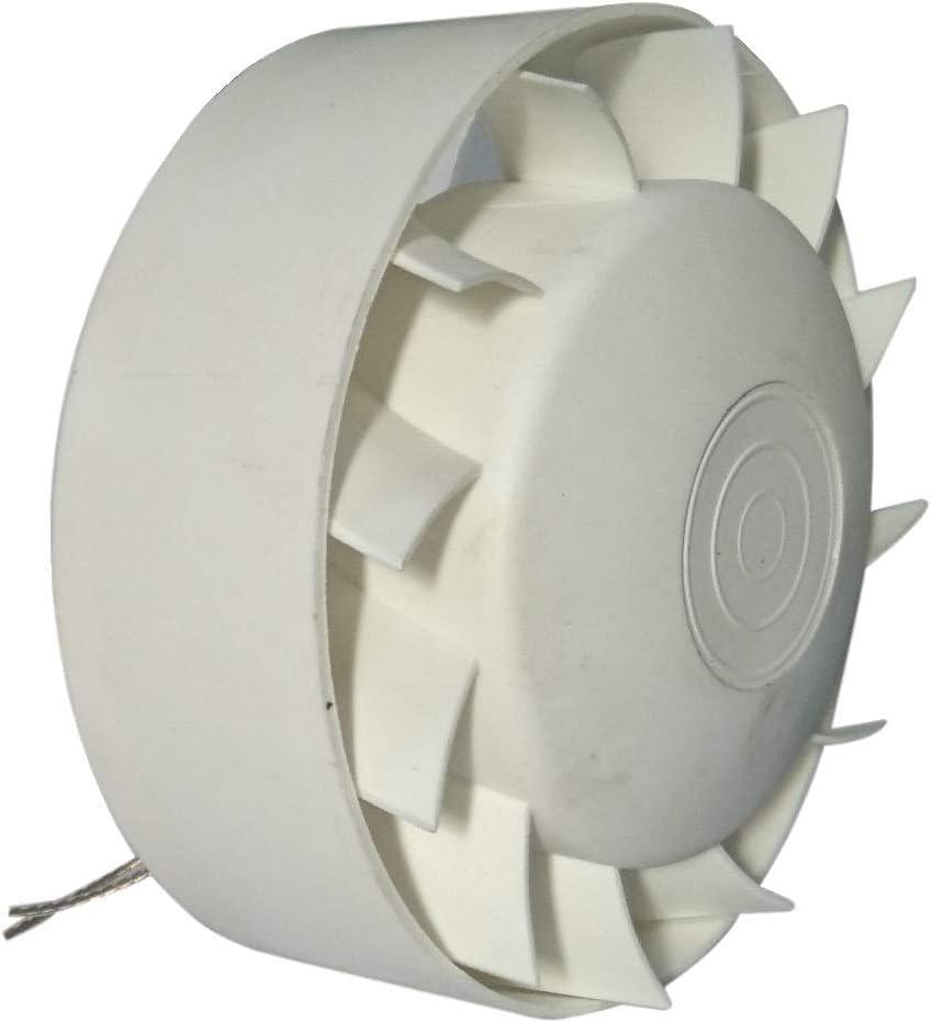 Ventilador Extractor Industrial en línea para conductos Circulares de Alta Temperatura 140°C MMotors JSC 100 mm Rodamiento Bolas NSK Japón Larga Vida hasta 30.000 Horas IN-Line Barbacoa