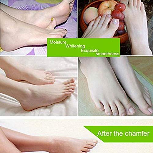 Tagorine Foot Mask,Exfoliating Foot Peeling Renewal Mask Remove Hard Dead Skin Cuticle Heel