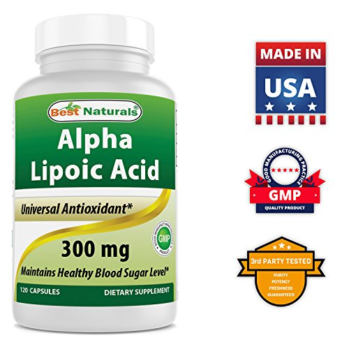 Best Naturals Alpha Lipoic Acid 300 mg 120 Capsules by Best Naturals (Image #4)