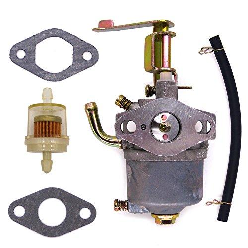 FitBest New Carburetor with Fuel Filter for Buffalo Tools Sportsman GEN1100 GEN154 2.8HP 1500w 2000W Homelite HGCA1400 Generator