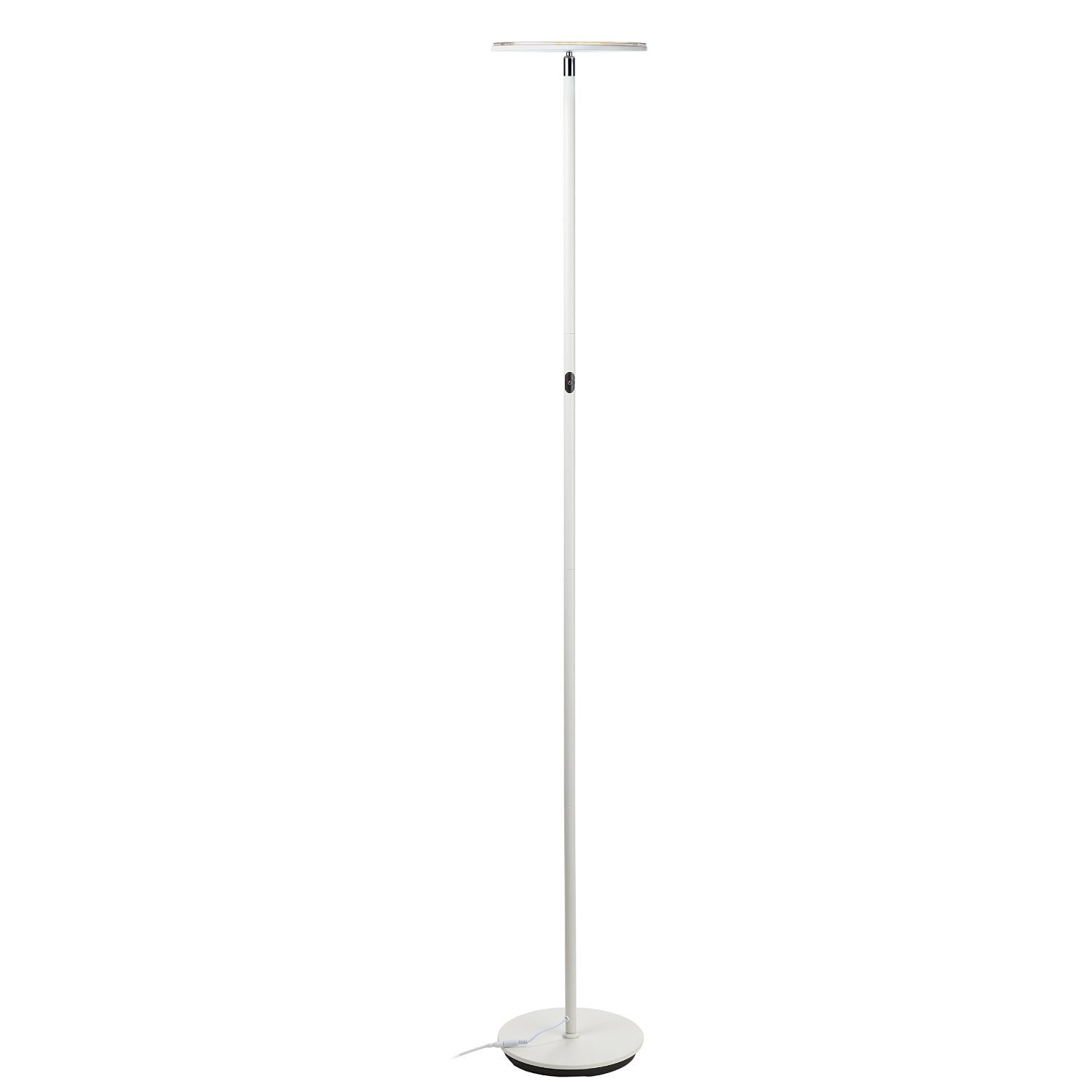 floor lamp standing with narrow lights torchiere officeworks lamps magnifying living office for tall light design reading bright funky room stand superb nordic led