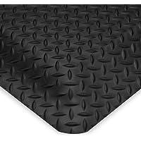 Relius Solutions Smart Diamond-Plate Mat - 2X3 - 1 - Black - Black - 2x3