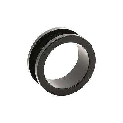 Blue Banana Body Piercing Dilatación Túnel Acrílico Flesh (Negro) - 24mm (Calibre/