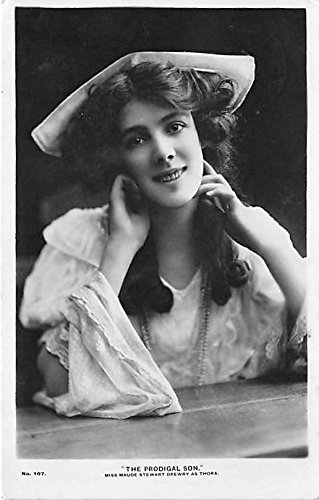 miss-maude-stewart-drewry-as-thora-in-the-prodigal-son-theater-actor-actress-postcard
