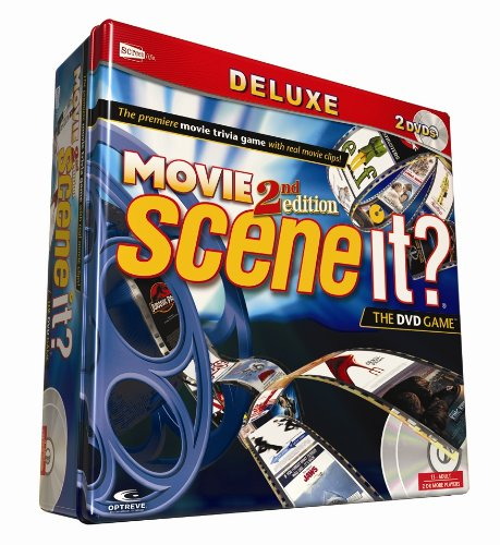 2nd Edition Scene - Scene It? Deluxe Movie 2nd Edition