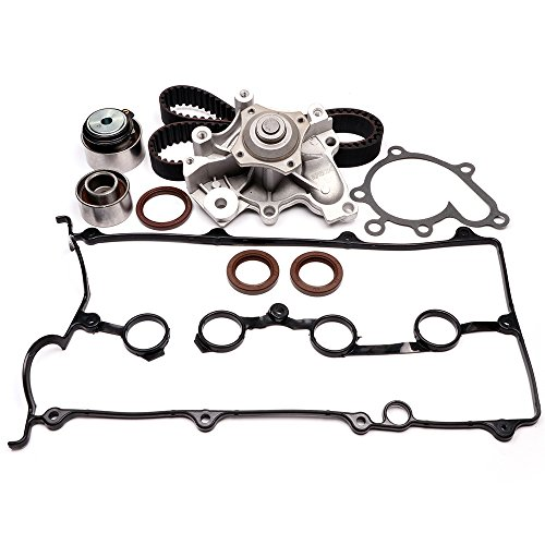 Ford Probe Water Pump - Timing Belt Water Pump Kit, ECCPP Automotive Replacement Timing Parts For 1993-1997 FORD PROBE VIN A MAZDA MX-6 2.0L L4 DOHC 16V ENG.FS