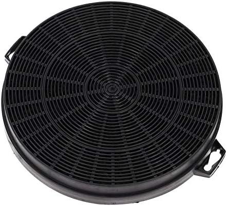 Filtro de carbón Filtro de carbón activado Campana extractora para hidromasaje de Bauknecht 481281728343 484000008579 CHF210/1 210/200 mm B210: Amazon.es: Grandes electrodomésticos