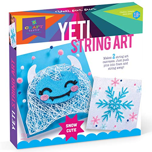 Craft-tastic – String Art Kit – Craft Kit Makes String