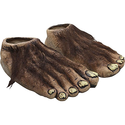Hobbit Costumes Feet (Adult Big Feet Animal Costume Accessory)