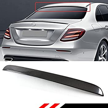 Cuztom Tuning Fits for 2017-18 Mercedes Benz W213 E-Class E300 E43 AMG VIP Luxury Type Carbon Fiber Trunk Spoiler